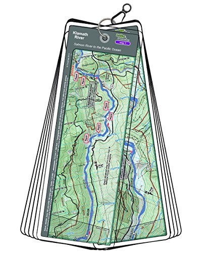 (Troutmap Klamath River Map Set - California, Salmon River to The Pacific Ocean)