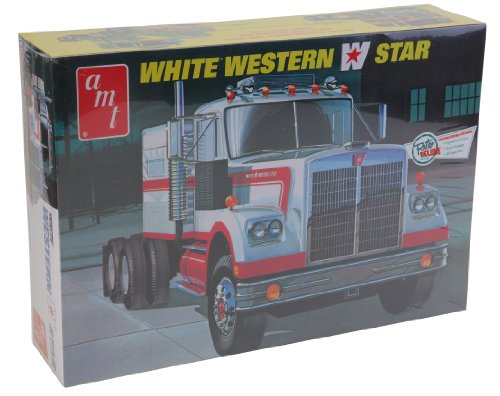 AMT 1:25 Scale Western Star Semi Tractor Kit (White)