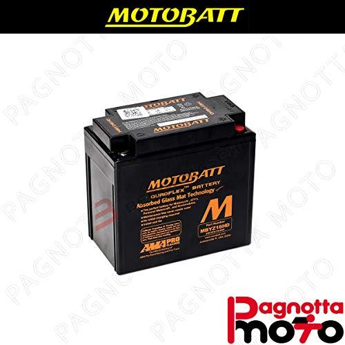 E06041 Accu MOTOBATT MBYZ16HD Aprilia SR Max 125 2011> 12 V 16_5 Ah 151 x 87 x 145 mm zuur
