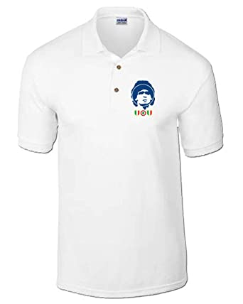 T-Shirtshock - Polo WC0504 Napoli s Maradona, Talla XXL: Amazon.es ...