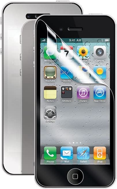 Cellet Super Strong Maximum Protection Mirror and Clear Screen Protector for Apple iPhone 5/5S/5C