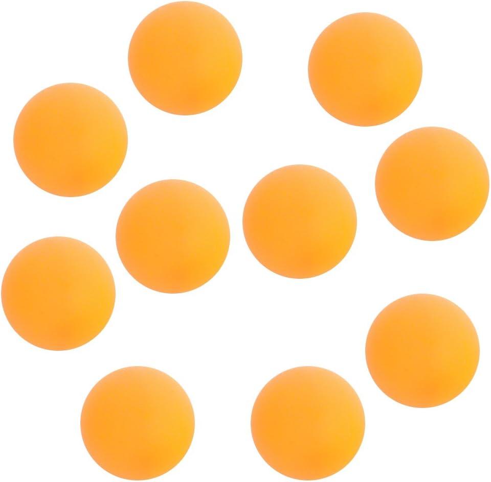 WINOMO Ping Pong Bolas Bola de Tenis de Mesa de 40mm de naranja (10pcs)
