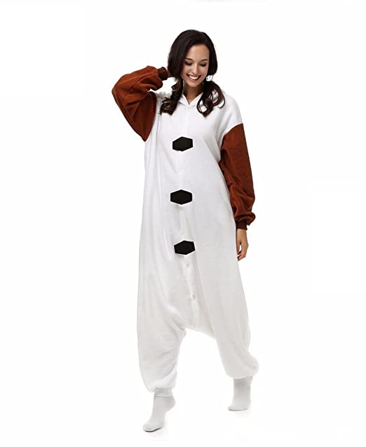 Amazon.com : HYY@ Unisex Flannel Onesie Plus Size pyjama animaux Women Cosplay Costume Olaf Animal Sleepwear Sleepsuit : Sports & Outdoors