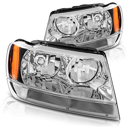 04 jeep cherokee headlights - 6