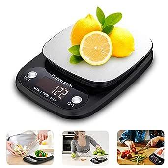 Báscula Digital Cocina, Ubegood Cocina de Acero Inoxidable
