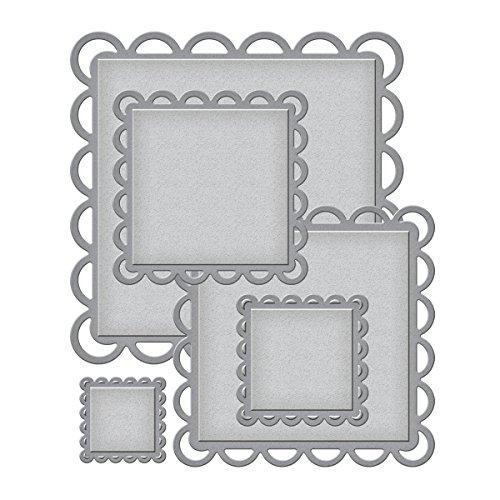 Spellbinders Nestabilities Decorative Elements Dies, Lacey Squares
