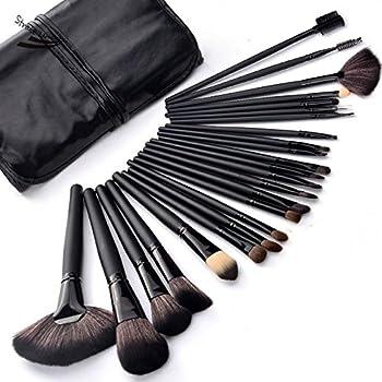 Brochas Maquillaje 32 Piezas Set Profesional color Negro Chicaspekes