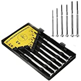 6 in 1 Precision Screwdrivers Set Kit for all precision work, Mobiles, watches, Cameras and craft work