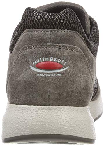 10 Gabor Brown Wallaby Derbys Fumo Women's Rollingsoft YYTqHfR