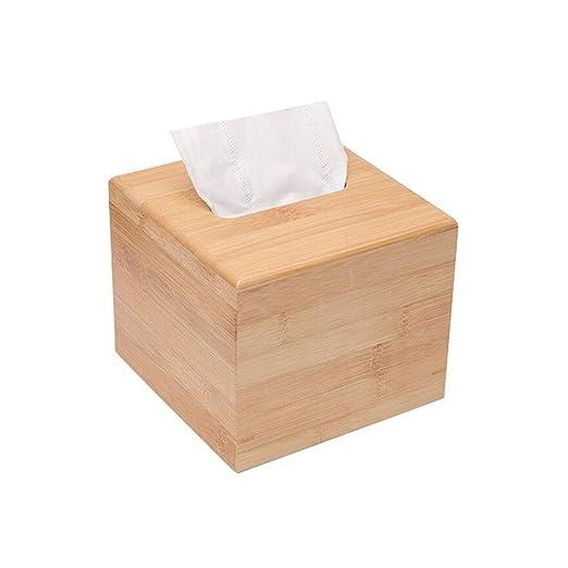 MuMa Caja De Toalla De Papel De Bambú De Madera Caja De ...