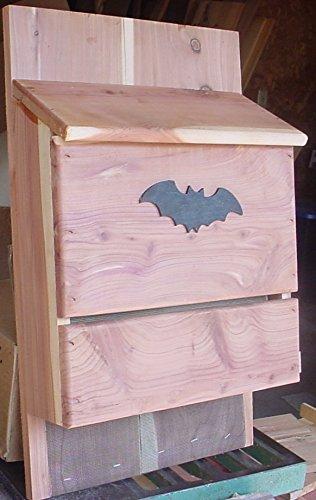 Bat House - Large Cedar by Bird Houses by Mark
