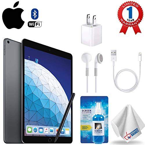 "Price comparison product image Apple 10.5"" iPad Air (Early 2019,  256GB,  Wi-Fi + 4G LTE,  Space Gray) Accessory Kit"