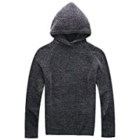 Deals on Vcansion Mens Classic Long Sleeve Fleece Knitted Sweaters