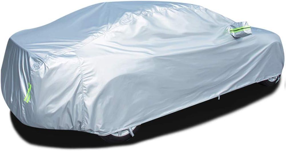 Autoabdeckung Kompatibel mit Porsche 718 Boxster Auto Abdeckplane Autoabdeckung Vollgarage Outdoor Autoschutzdecke Auto Autogarage Vollgarage mit Reflexstreifen Wasserdicht Autoplane Ganzgarage