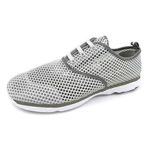 Sneakers Amoji Aqua Unisex 8859gray Shoes Water Athletic CwwSfq4v