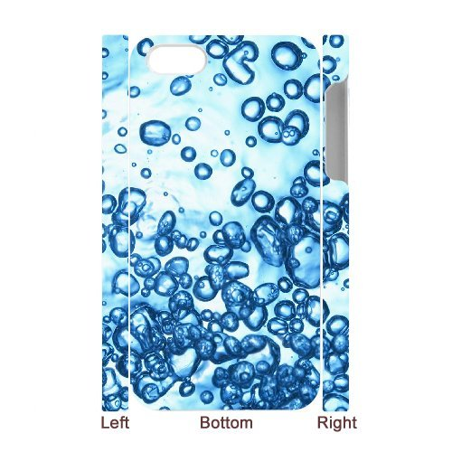 SYYCH Phone case Of Colorful Water Bubbles 1 Cover Case For Iphone 4/4s