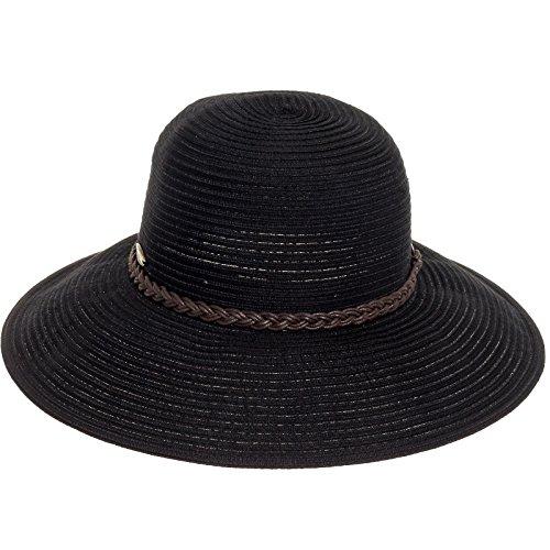 Cappelli Women's Big Brim Sun Hat (Black)