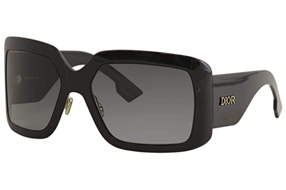Amazon.com: Dior DIOR SO LIGHT 2 BLACK/GREY SHADED 61/20/130 ...