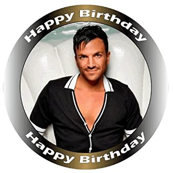 Peter andre edible birthday cake topper size 75190cm cake not peter andre edible birthday cake topper size 75quot190cm cake not supplied bookmarktalkfo Image collections