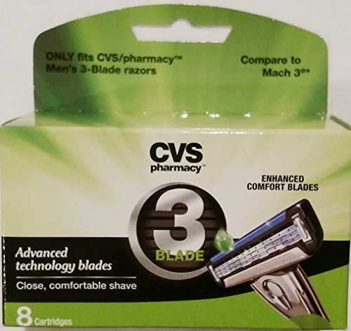 Cvs 3 Blade Enhanced Comfort Blades 8 Cartridges
