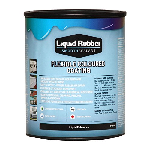 Liquid Rubber Smooth Sealant - 1 Quart Can Tintable