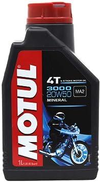 Motul 107318 Motorenöl 3000 20 W50 Engine Oil 4t Auto