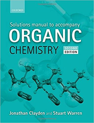 buy solutions manual to accompany organic chemistry book online at
