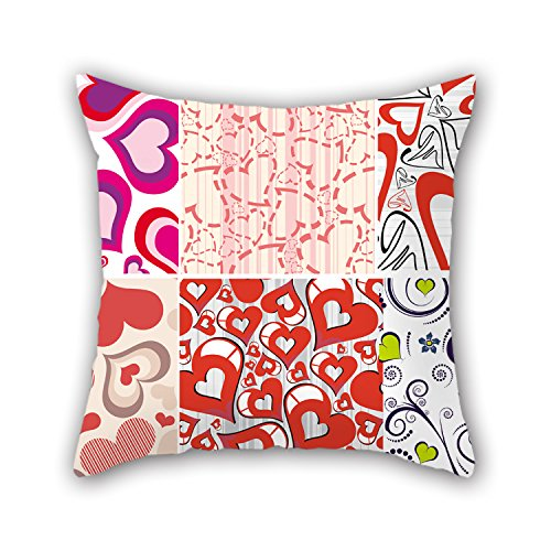 PILLO 18 X 18 Inches / 45 By 45 Cm Love Cushion Covers,2 Sides Is Fit For Christmas,gf,festival,home Office,bedding,him