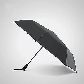 XFF Sombrilla acompañante inteligente paraguas negro doble paraguas plegable sombrilla protección UV sombrilla femenina,UN