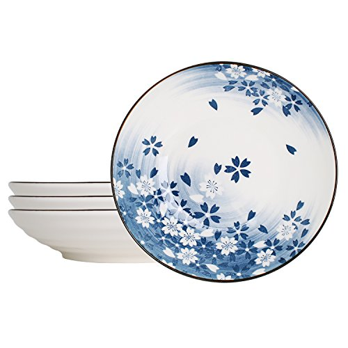 China Blue Floral Accents - 8