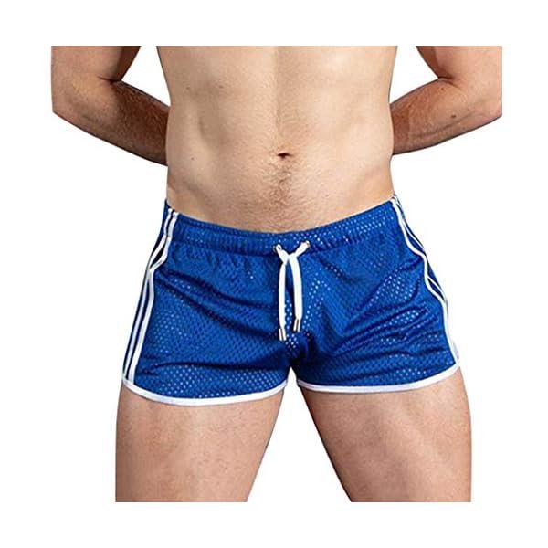 FRAUIT Shorts Uomo Palestra Pantaloncini Ragazzo Running Jogging da Allenamento Pantaloncino Uomini Sport con Asciugatura Rapida e Traspirante Pantacollant 1 spesavip