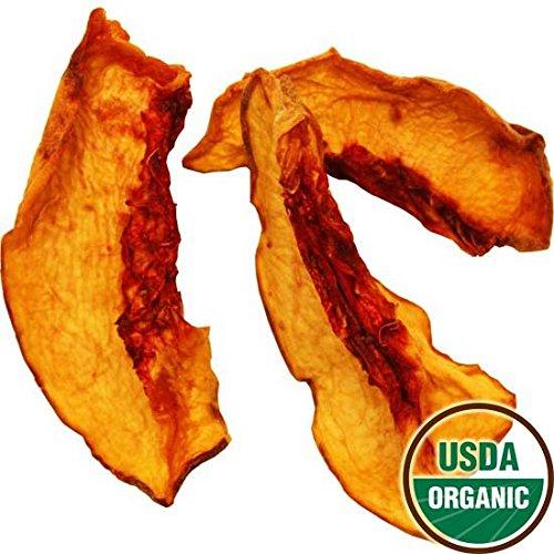 Organic Dried Yellow Peaches, 2.5 lbs