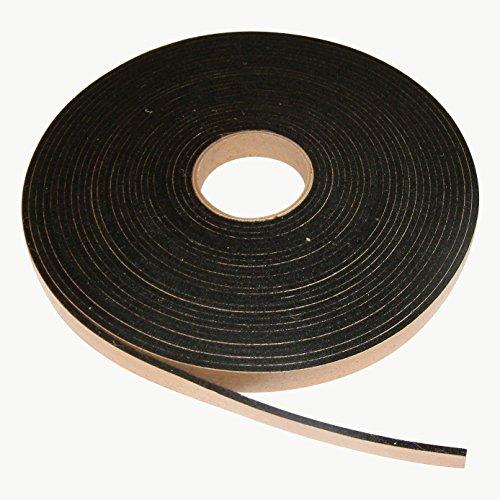 Black Felt Backing - J.V. Converting FELT-09/BLK11667 JVCC FELT-09 Polyester Felt Tape: 1