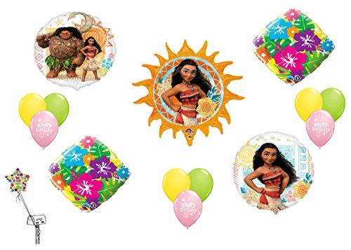 Disney Moana Decoration Balloon Kit - Moana Store Ala