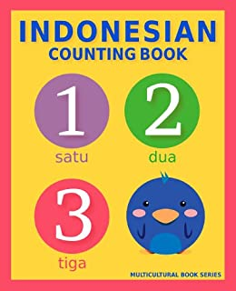 Indonesian Counting Book: Basic Indonesian and English Edition (Multicultural Book Series 6) by [Mclean, S.A.]