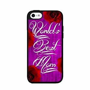 World's Best Mom Plastic Phone Case Back Cover iPhone 4 4s
