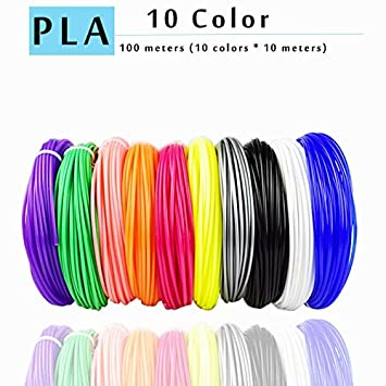 Amazon.com: W-Shufang,3D PLA/ABS/PETG 3D Printer Filament ...