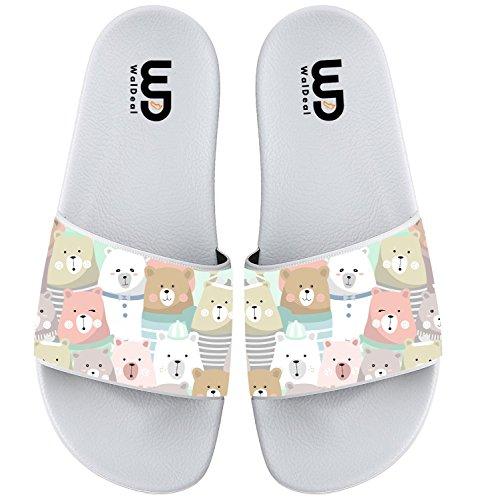 Pattern Girl Bear Cute For Beach Women Slipper Summer Slide Women Sandal Boy Shoes Seamless Outdoor Men 1aRqWnR