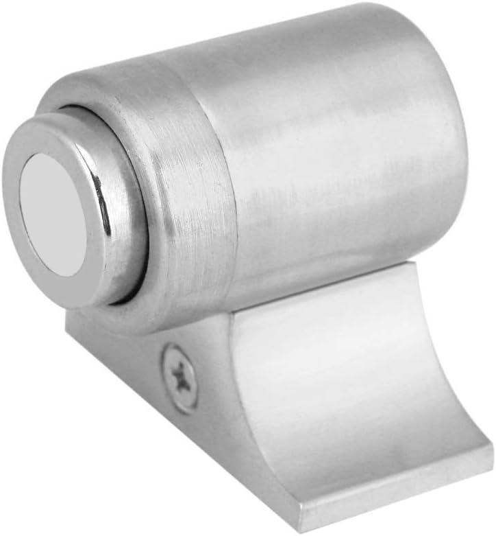 Door Stopper Stainless Steel Magnetic Door Draft Stopper Home Door Brushed Steel Style