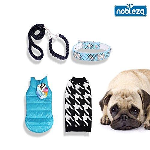 Nobleza - Pack de Ropa para Mascotas Street Style V - Talla L. Contiene: