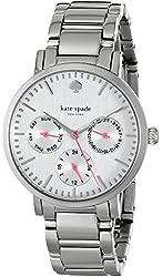 "kate spade new york Women's 1YRU0471 ""Gramercy"" Stainless Steel Watch"