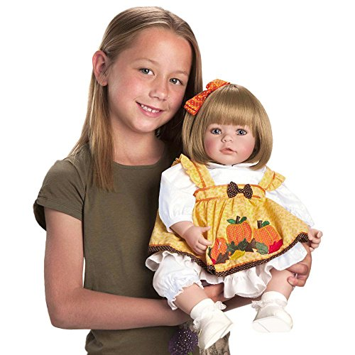 "Adora Toddler 20/""Play Doll Pin-a-four Seasons Sandy Blonde Hair//Blue Eyes 6+"