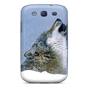 Sanp On Case Cover Protector For Galaxy S3 (holwing Wolf)