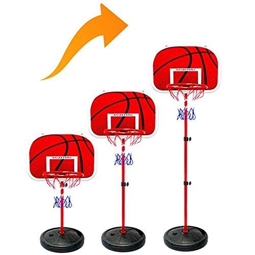 1.6m et 2m Basketball Stands hauteur réglable Basketball Stands du cadre Fer et barre de fer