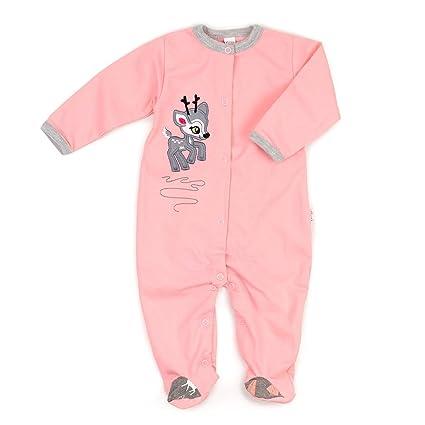 Pijama Pelele Color Rosa Reno Corzo Diseño rosa rosa Talla:62