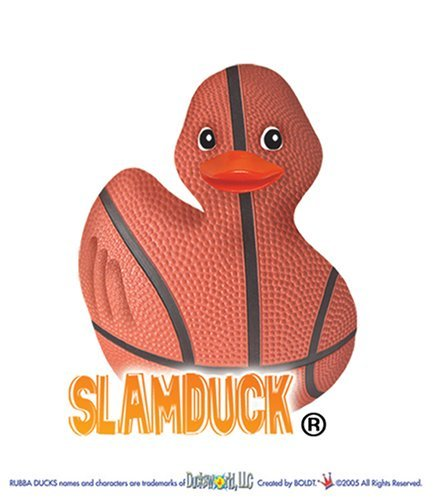 Slamduck - Basketball Rubber Duck by Rubba Ducks ()