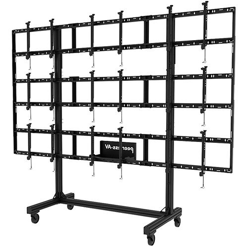 Peerless Industries Modular 3x3 Vid Wall Cart