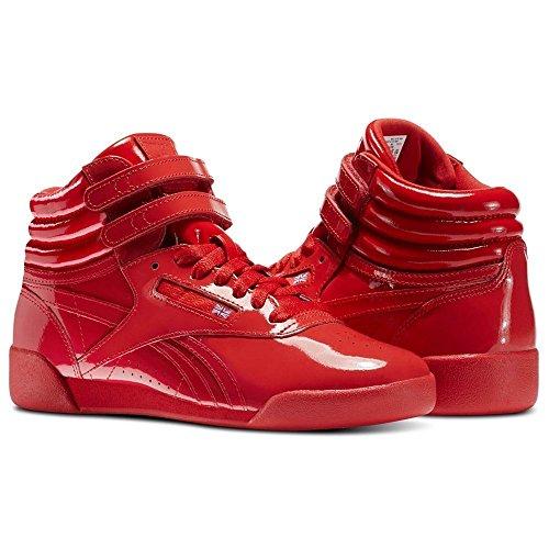 Reebok Women's F/S Hi Patent Fitness Shoes Red t50Qq