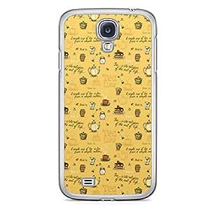 Tea Time Samsung Galaxy S4 Transparent Edge Case - Design 2