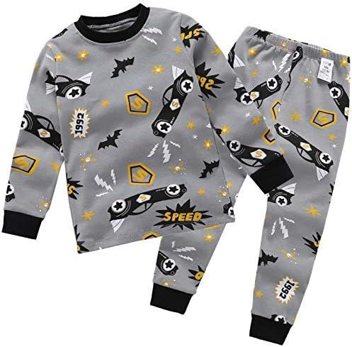 EETYRSD bebé de la Primavera Pijama de algodón bebé niña 1-3-5 ...